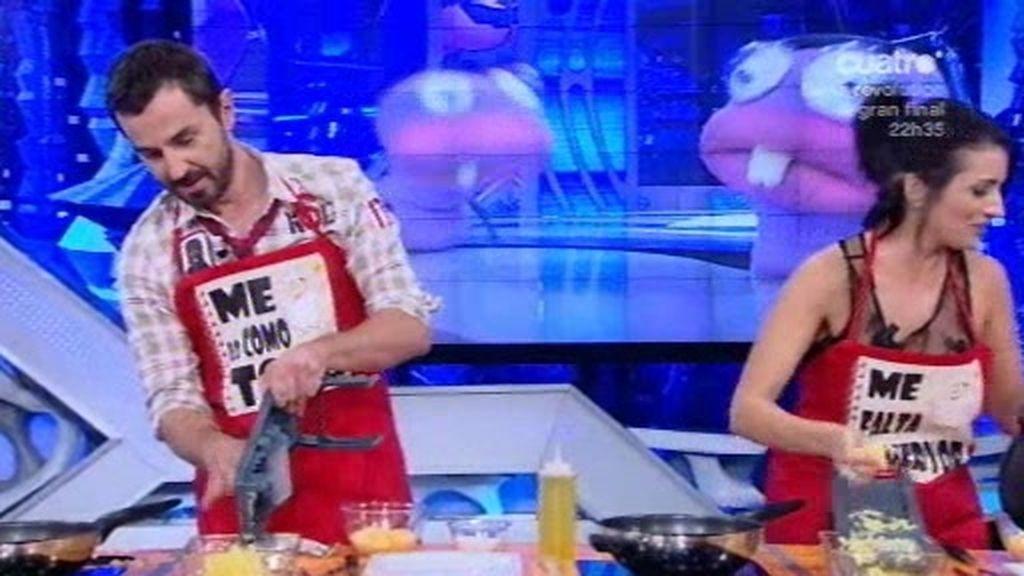 Santi Millán es un maestro de cocina