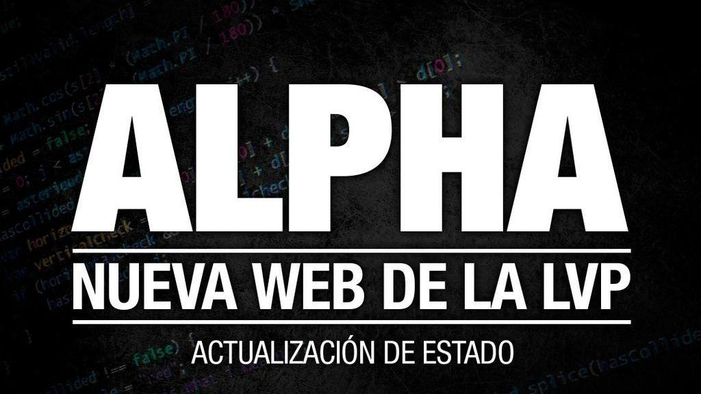LVP, nueva web