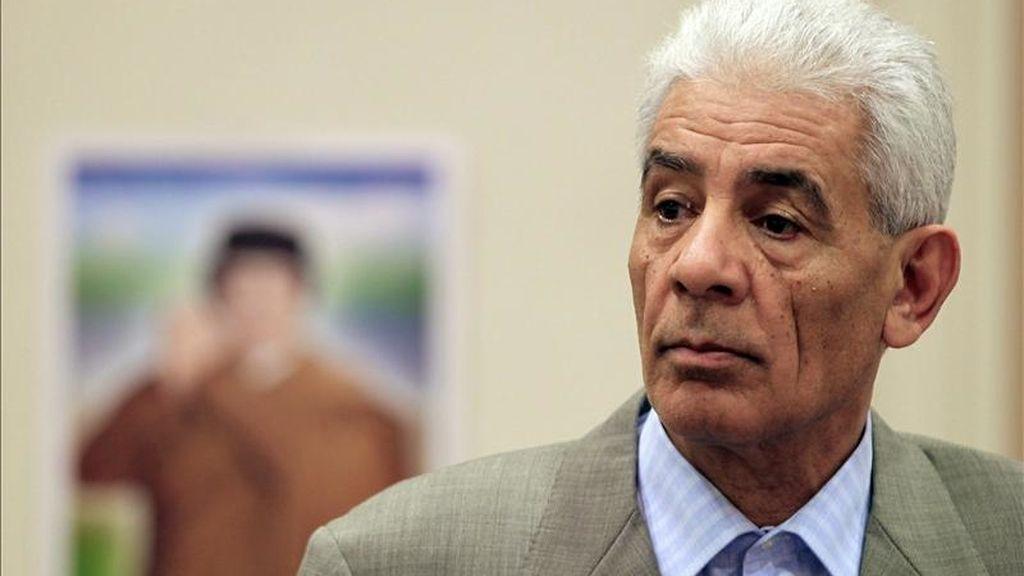En la imagen, el exministro libio de Asuntos Exteriores, Musa Kusa. EFE/Archivo