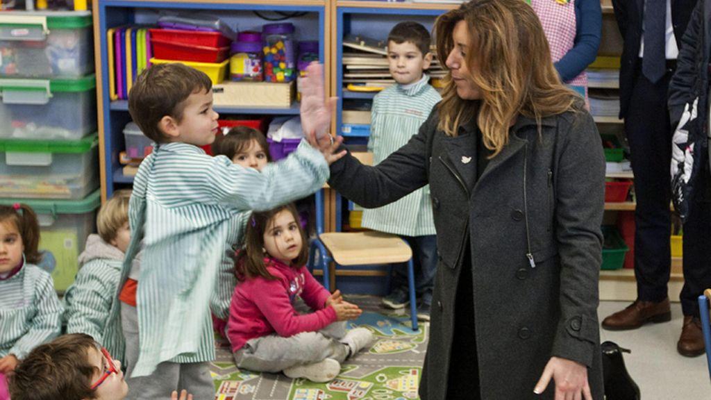 """La presidenta andaluza compatibilizará su embarazo con su trabajo """"como hacen miles de mujeres"""""""