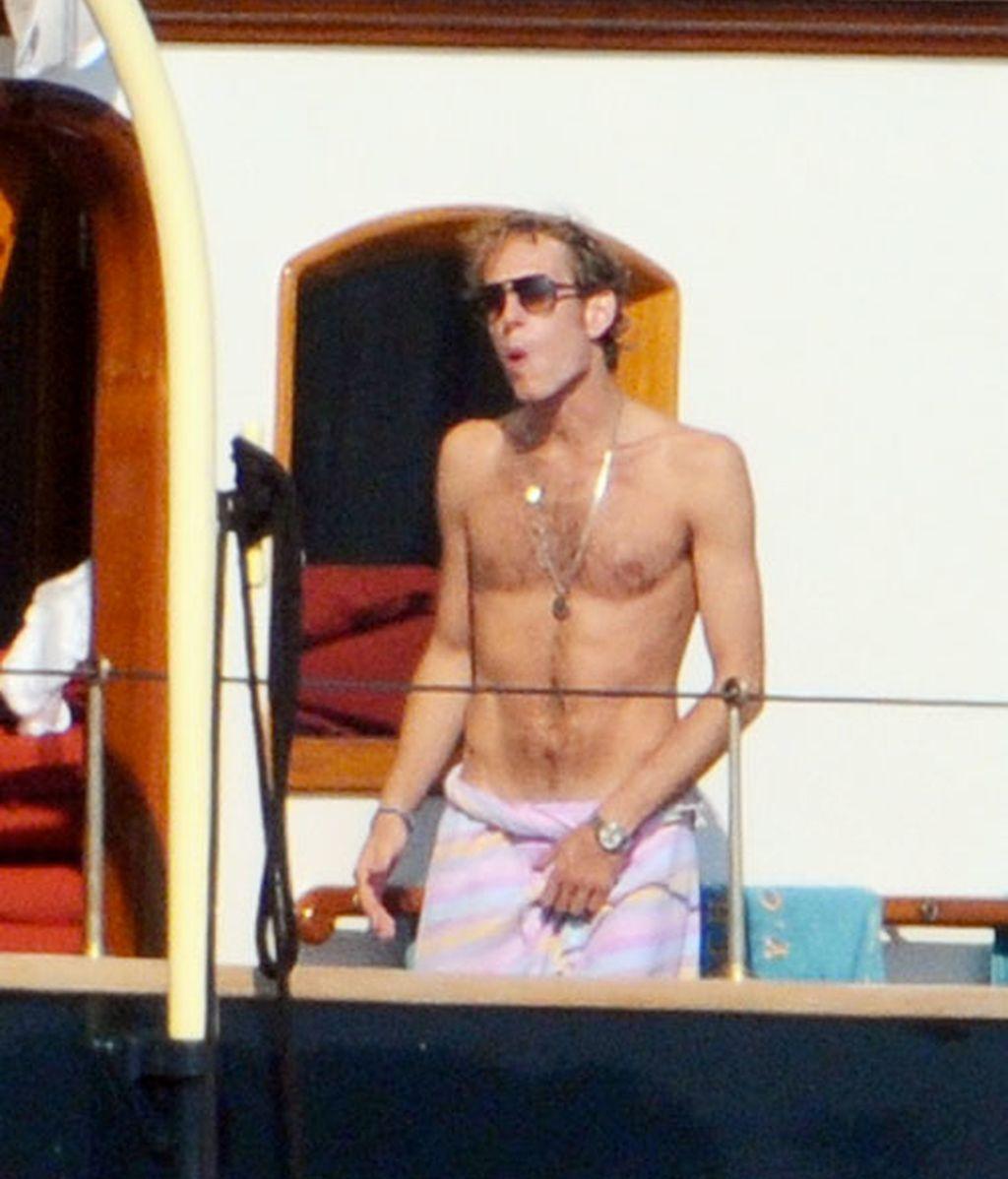 Andrea Casiraghi, príncipe de Mónaco y de las mareas