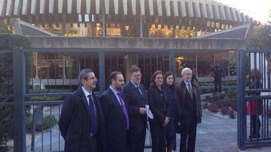 """El PSOE recurre el decreto """"ilegal y dictatorial"""" del cierre de RTVV ante el TC"""