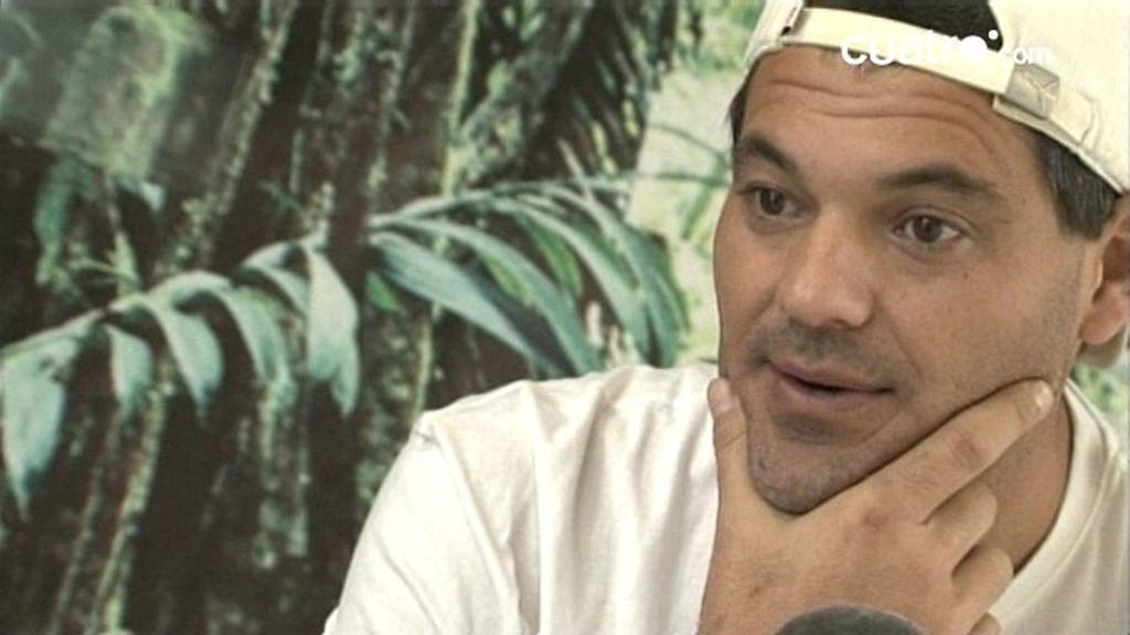 Frank en la entrevista más personal