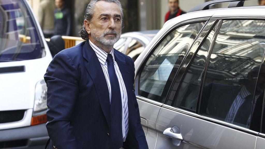 Fancisco Correa llega a la Audiencia Nacional