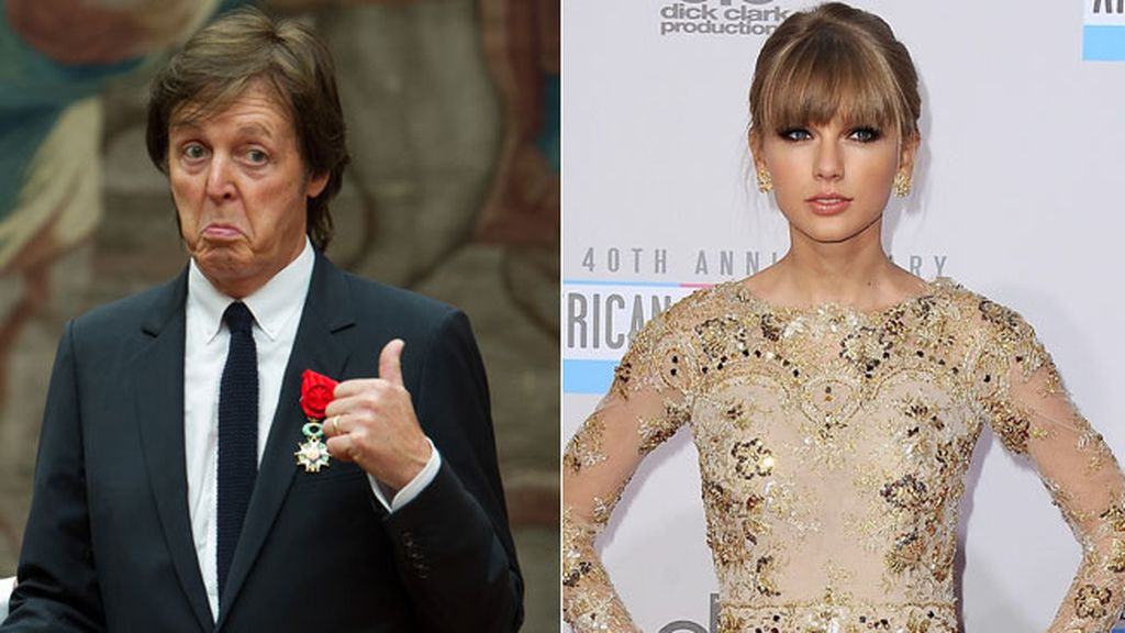 8. Paul McCartney y Taylor Swift, 57 millones de dólares