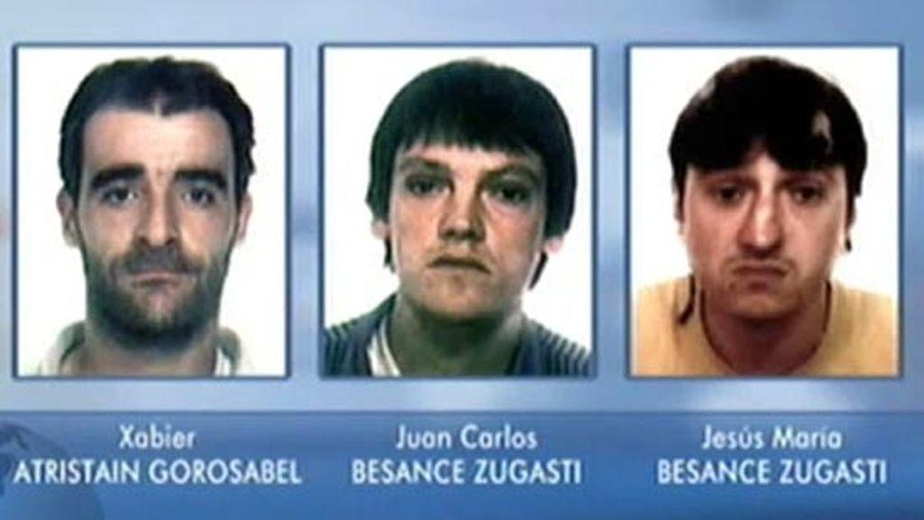 Javier Atristain Gorosabel y Jesús María y Juan Carlos Besanze Zugasti