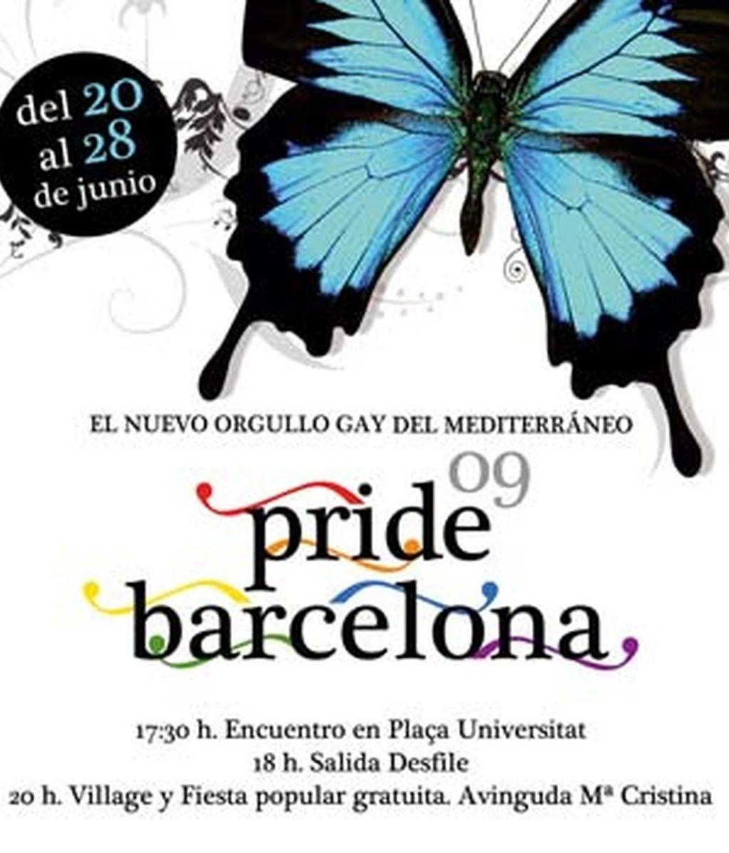 El desfile del Orgullo Gay del Mediterráneo, una gran fiesta con todo tipo de actividades, conciertos, cine, exposiciones, en Barcelona. Vídeo Informativos Telecinco.