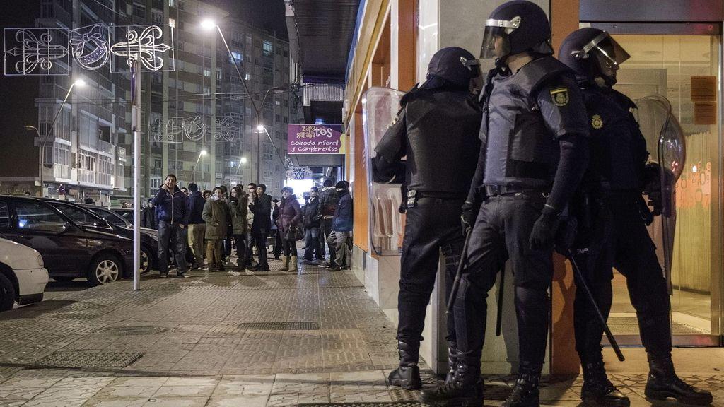 Disturbios en Burgos