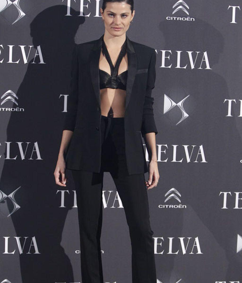 La modelo Isabelli Fontana, de Givenchy