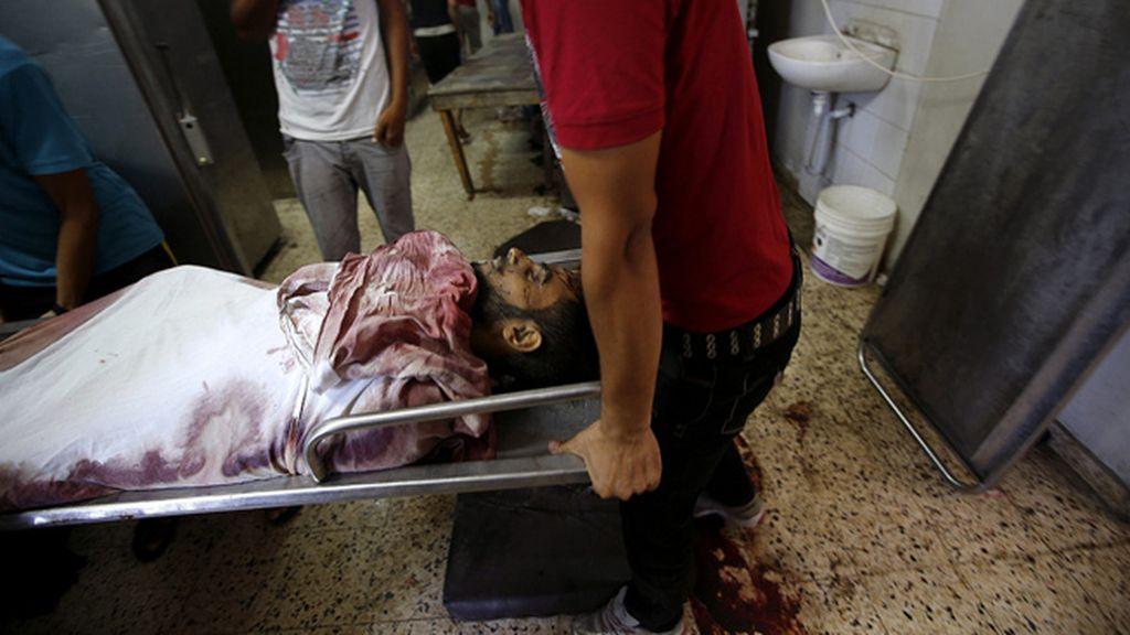 Muerte y destrucción en Gaza