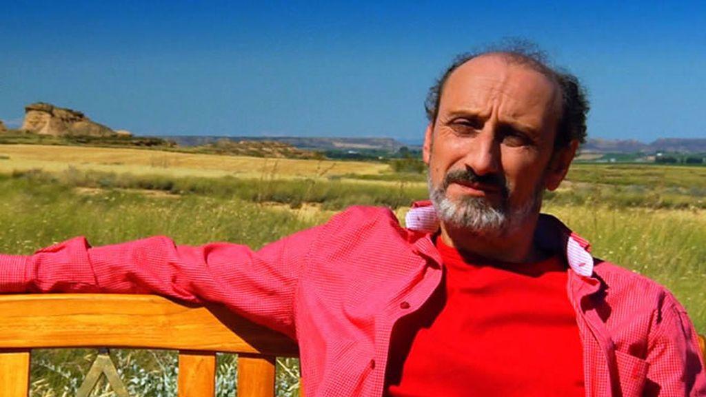 José Luís Gil ha elegido Los Monegros como su vista favorita