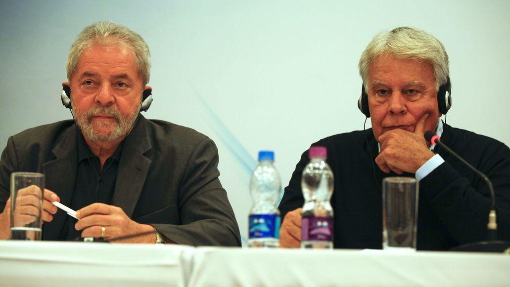 Felipe González y Lula hablan en Sao Paulo de nuevos desafíos democráticos