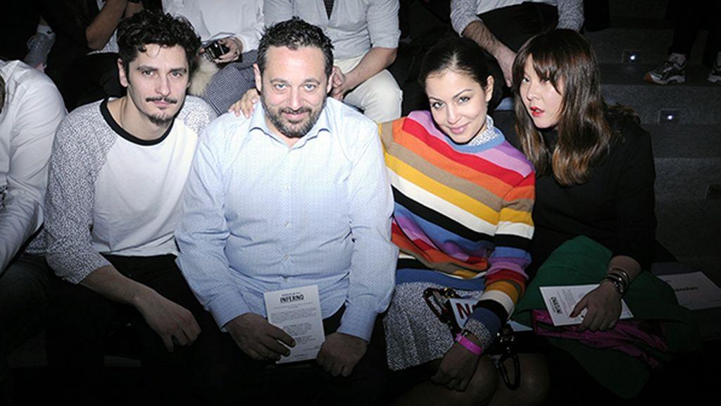 Antonio Pagudo, Pepón Nieto, Hiba Abouk y Melania Pan