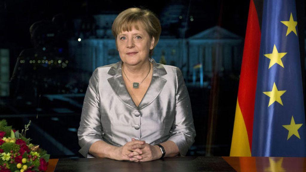 Angela Merkel pide paciencia a los alemanes en su discurso de fin de año