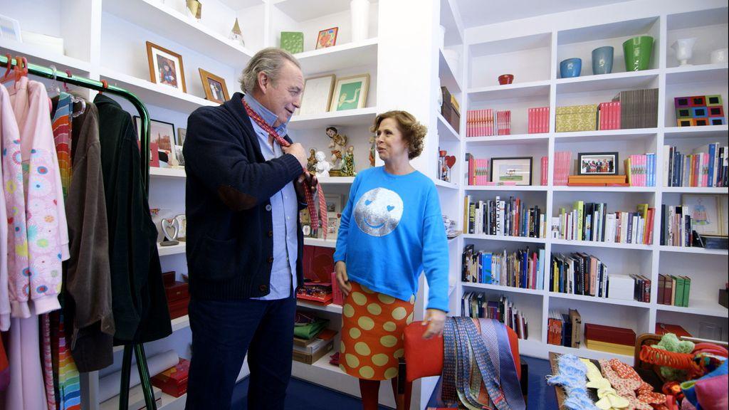 Pedro J. y Agatha Ruiz de la Prada, en 'Mi casa es la tuya'