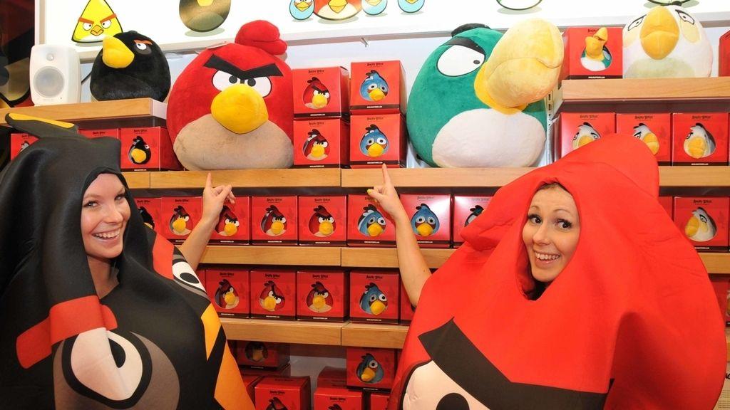 Angry Birds abre tienda en Helsinki