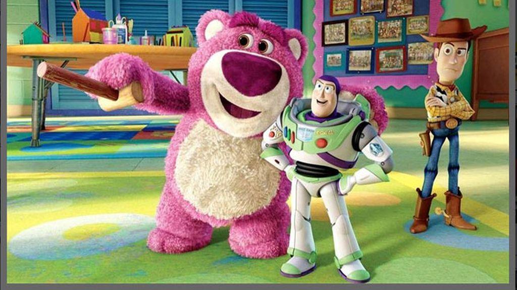 Disney,Lotso,oso rosa,Toy Story 3