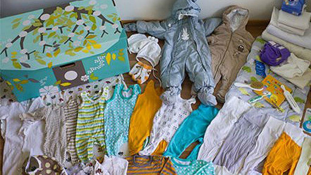 Cajas de cartón para recibir a los bebés finlandeses