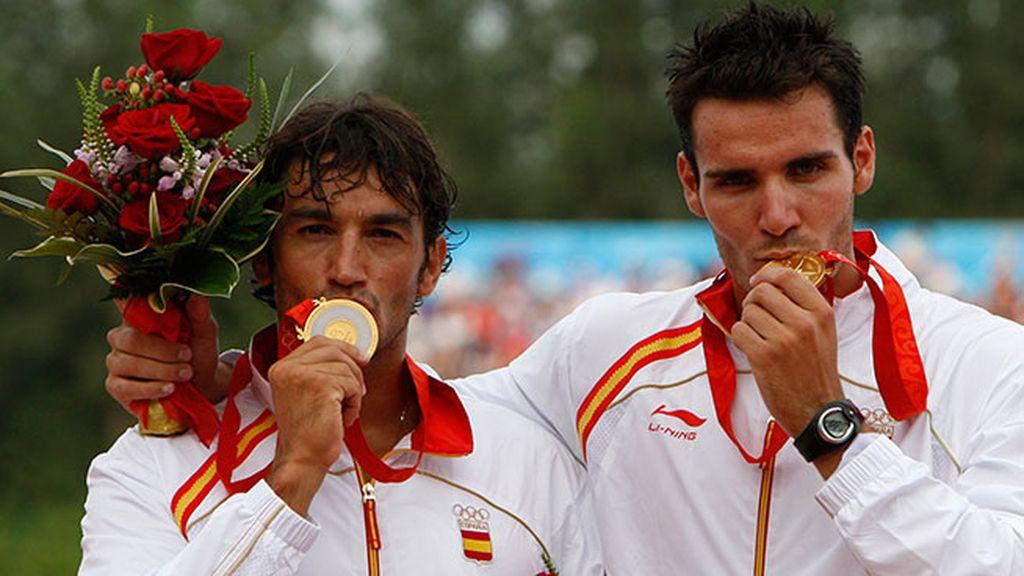 Pekín 2008: Saúl Craviotto y Carlos Pérez - Piragüismo (500m K2)