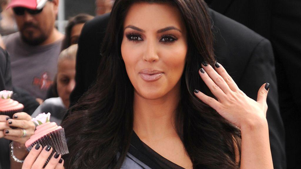 Kim Kardashian cupcake