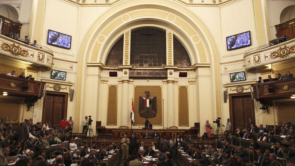 El Consejo de la Shura, cámara alta egipcia