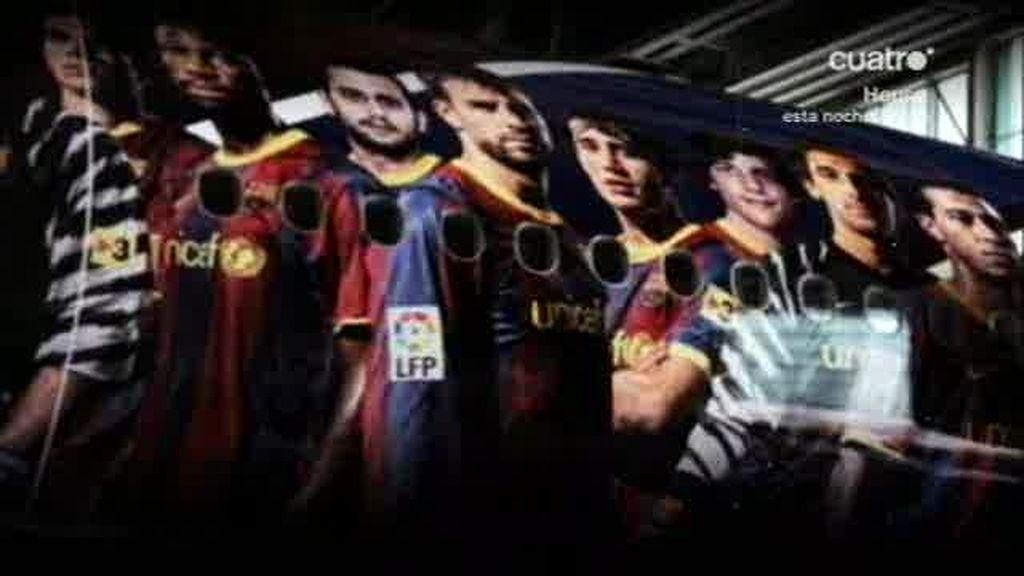 El Barça ya está en Londres