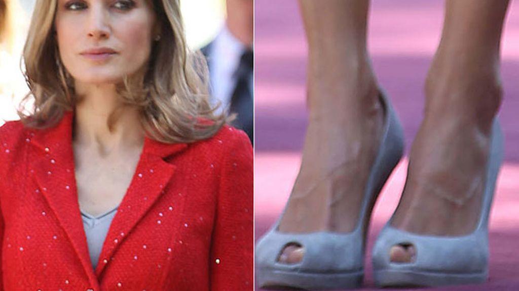 La Princesa Letizia y sus inseparables 'peep toes'