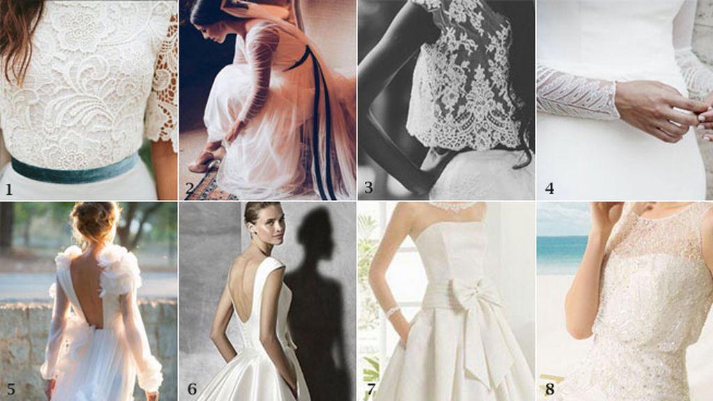 Telas de vestidos de novia (montaje)
