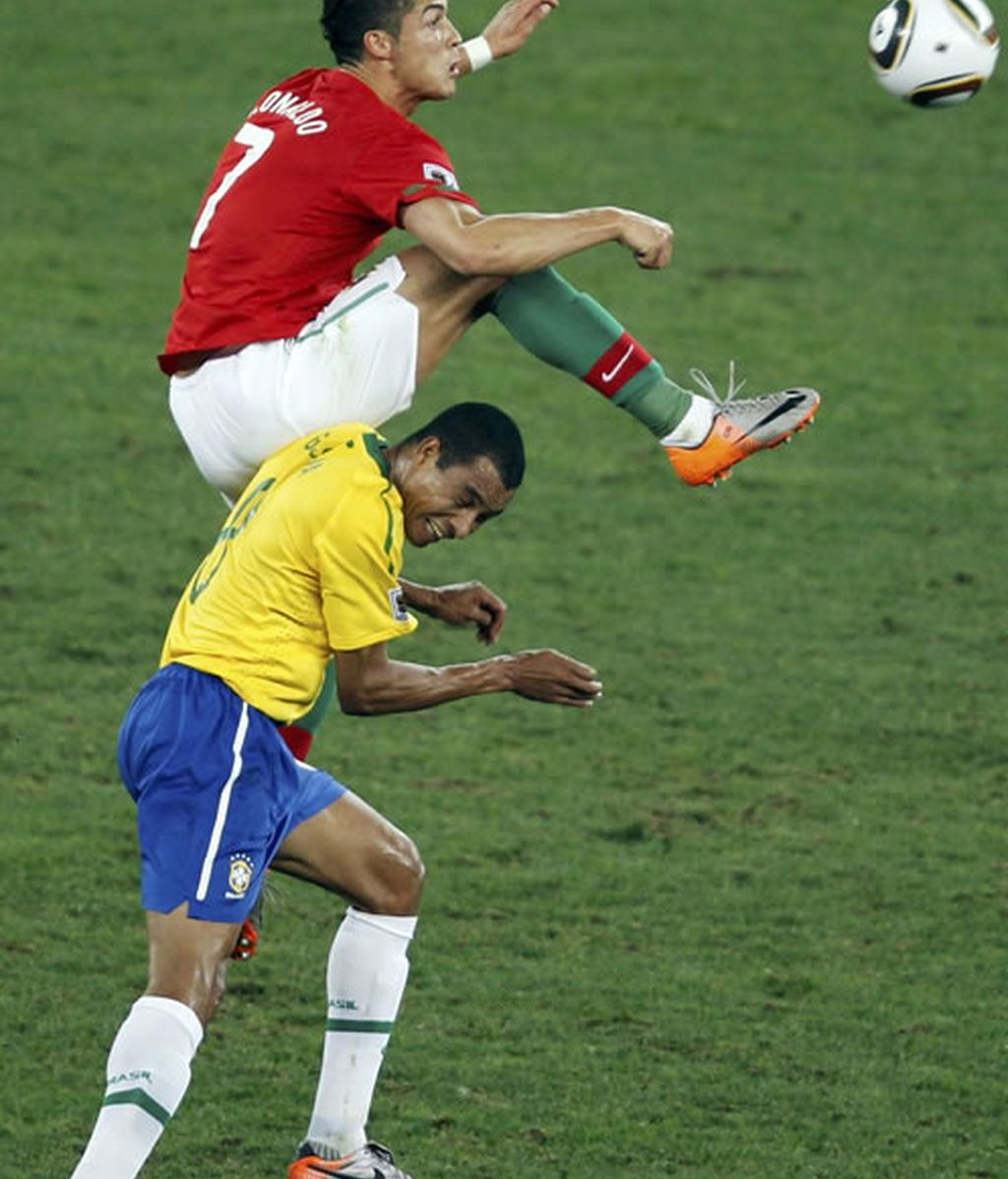 Brasil y Portugal empatan sin goles