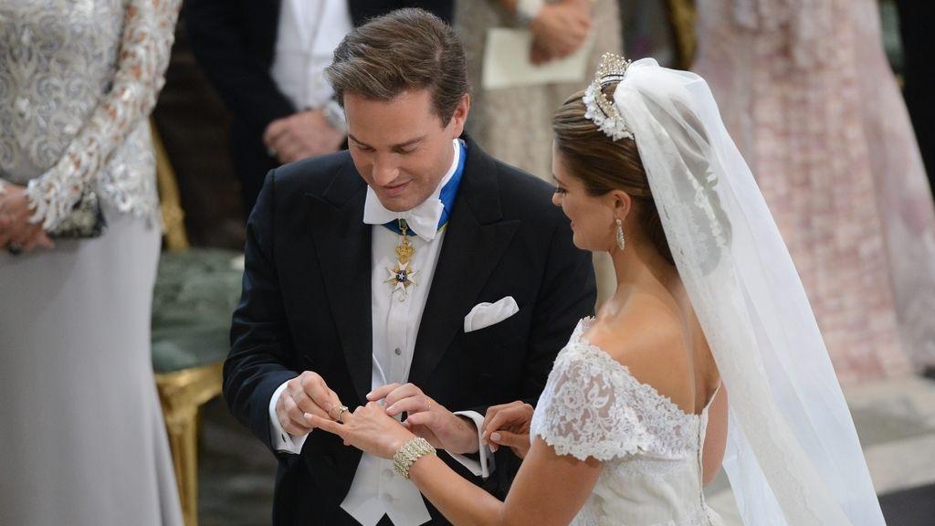 La boda de Magdalena de Suecia, en imágenes