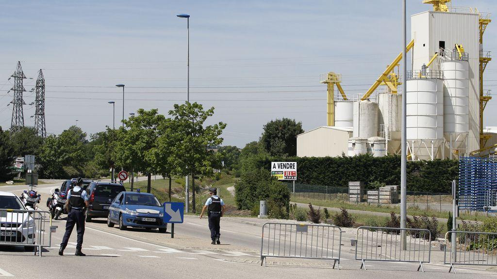 Antentado en una planta química en Francia