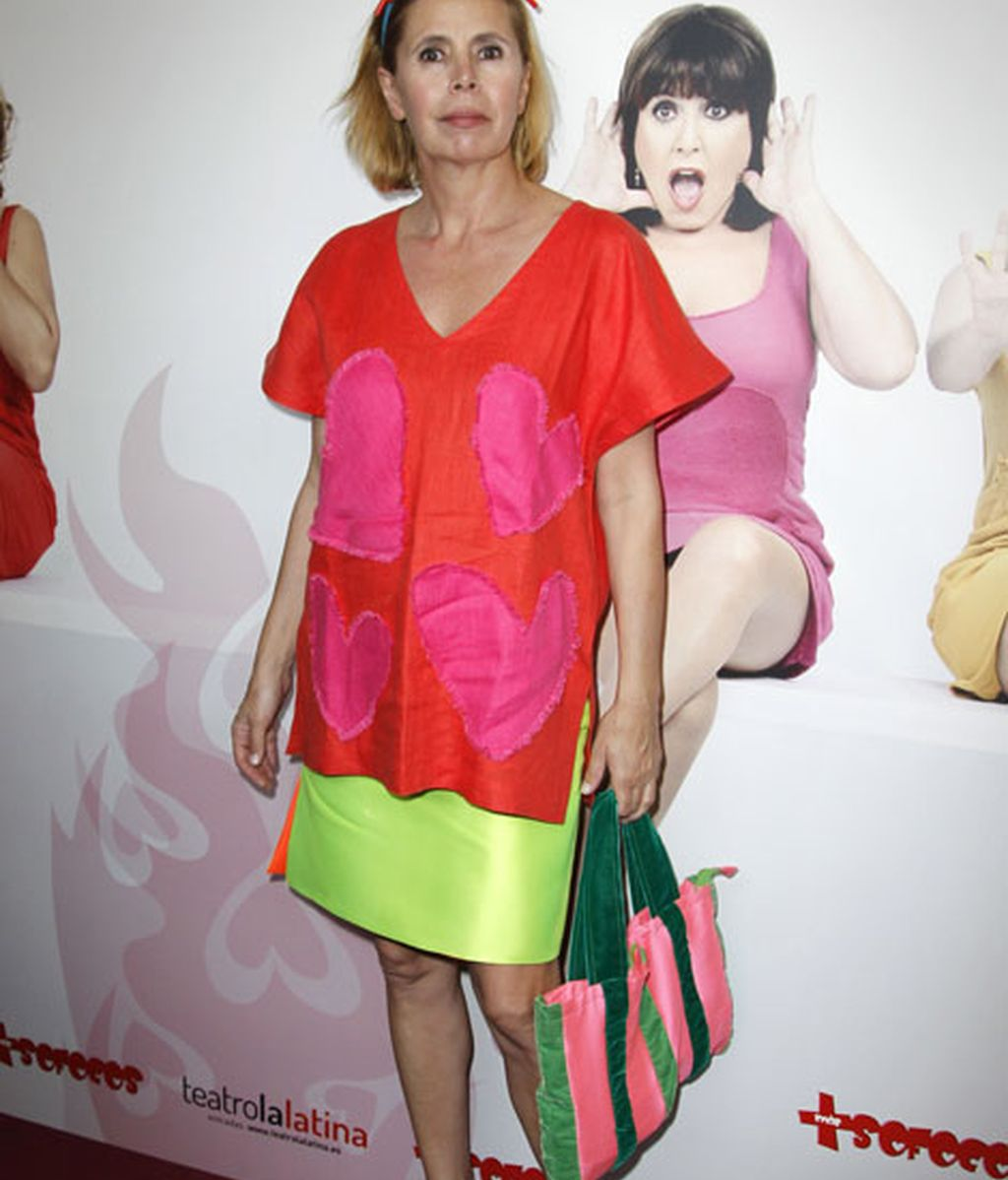 Agatha Ruiz de la Prada, encargada del vestuario