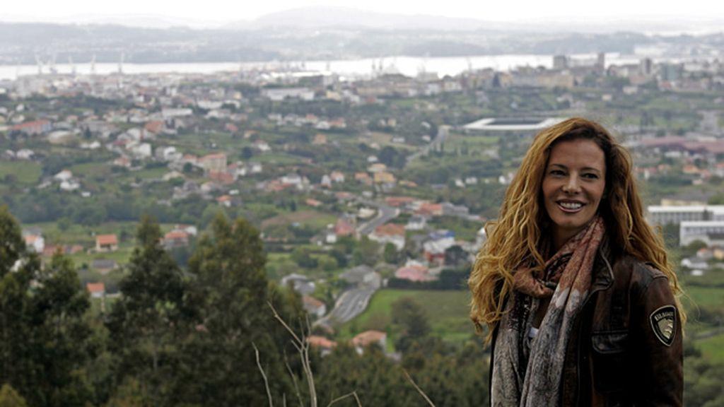 Una de las vistas favoritas de Paula Vázquez está en su tierra: Ferrol