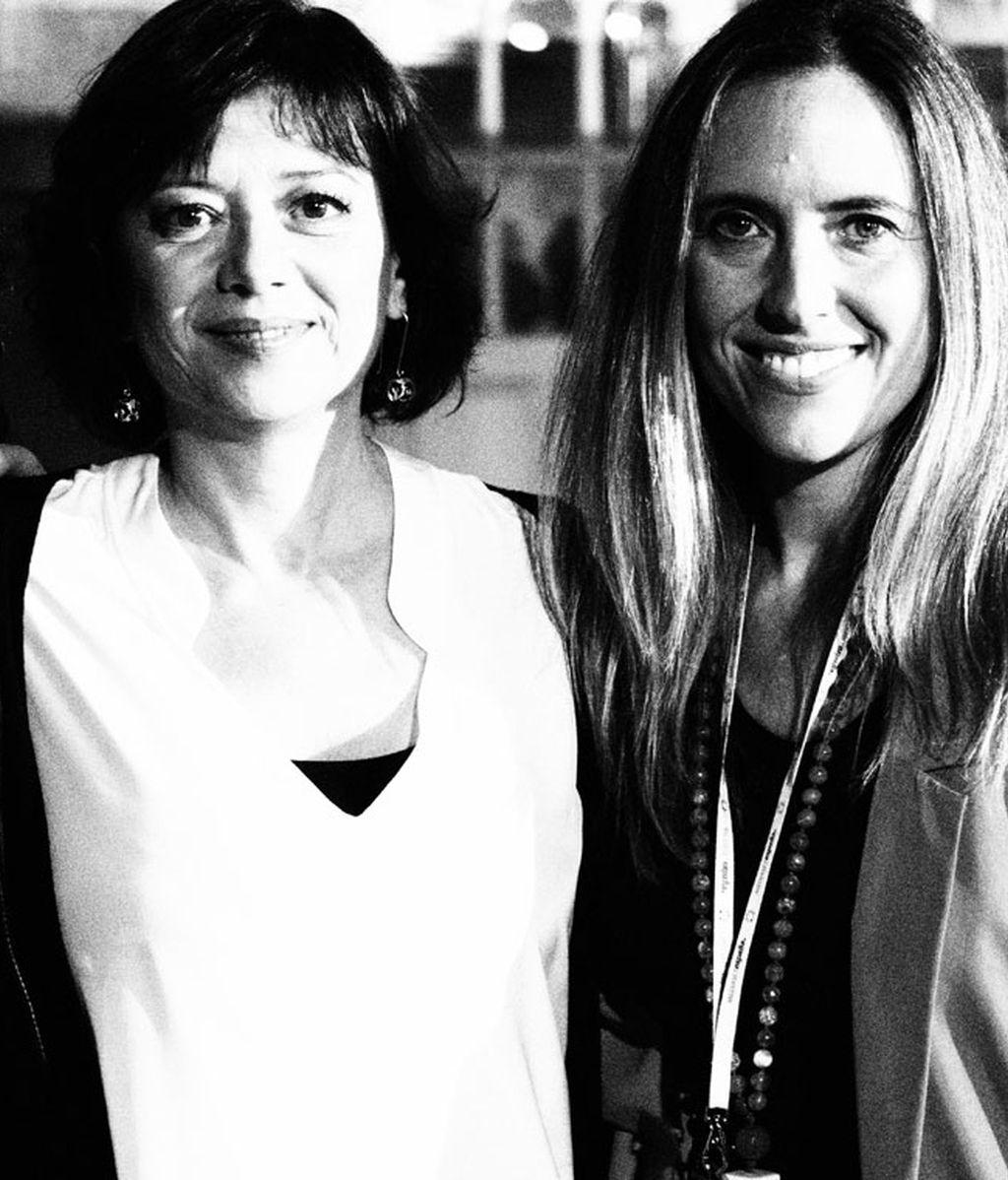 Mirta Drago y Cristina Gascón