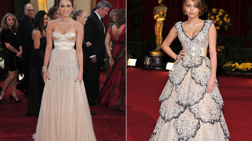 Suspendió con su vestido en los Óscar del 2009, pero lo arregló el año siguiente