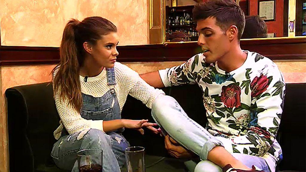 """Triana, sobre Lukas: """"Le falta el toque malo para que me atraiga del todo"""""""