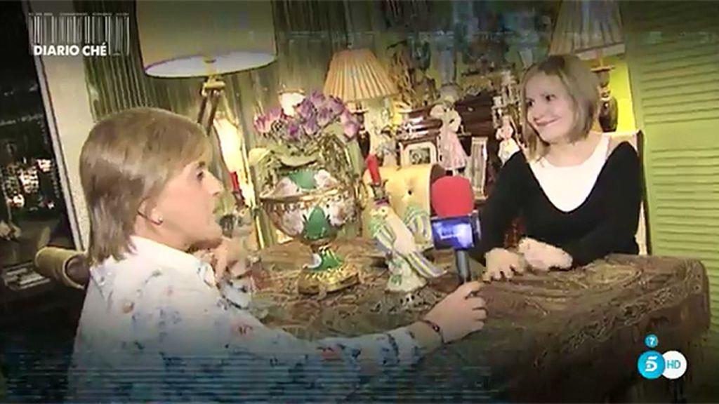 Tatiana, su hija, nos enseña su casa de Madrid