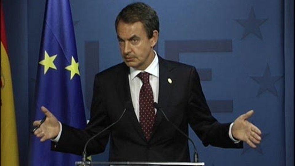 Zapatero apoya a Sarkozy