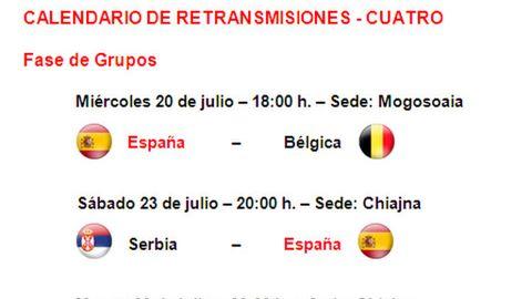 Calendario 2011 Espana.Calendario De Retransmisiones