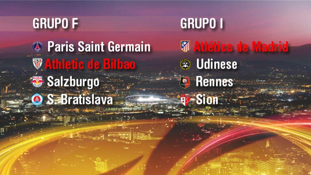 Los grupos de la Europa League