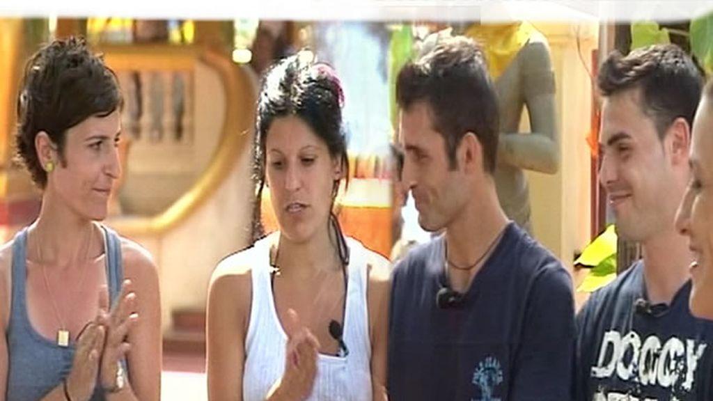 Sandra y Belinda o Javi y David, ¿quiénes son los más fuertes?