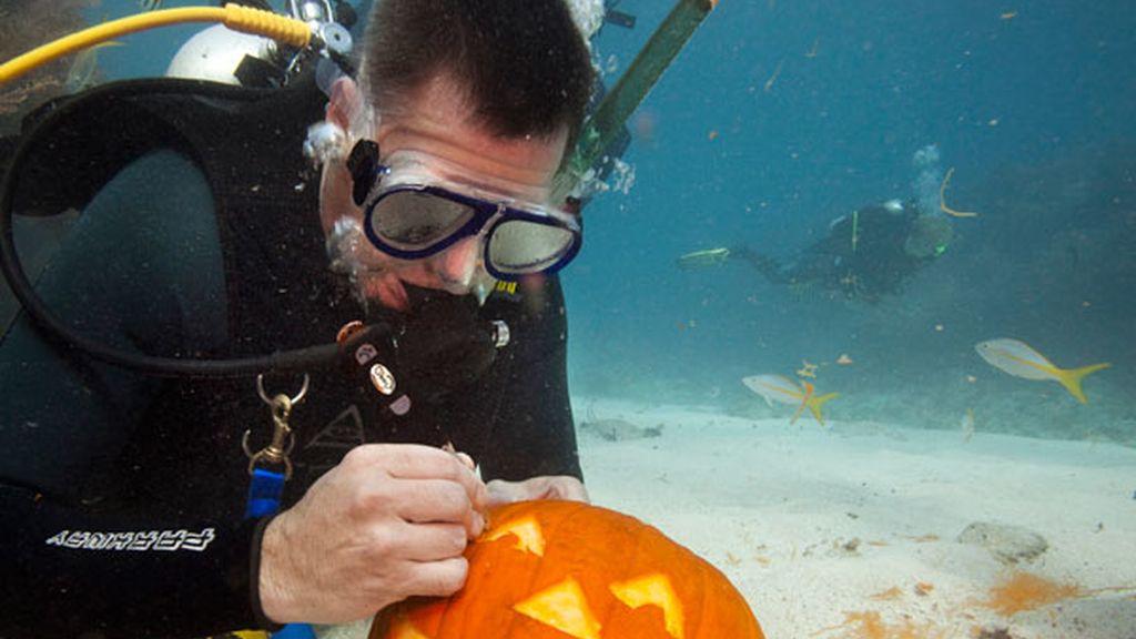 Halloween bajo el mar