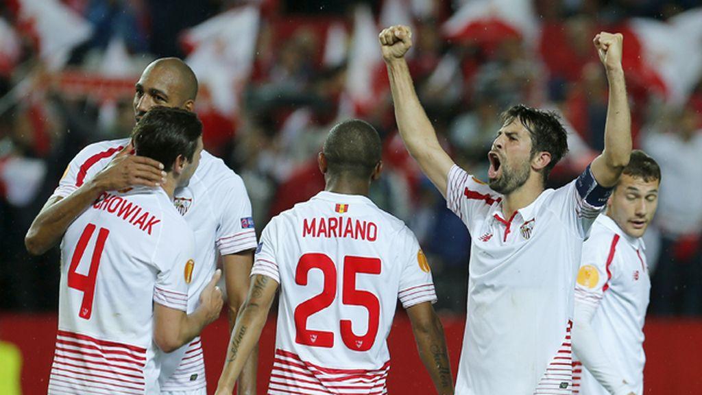 El Sevilla vence y jugará su tercera final de Europa League consecutiva