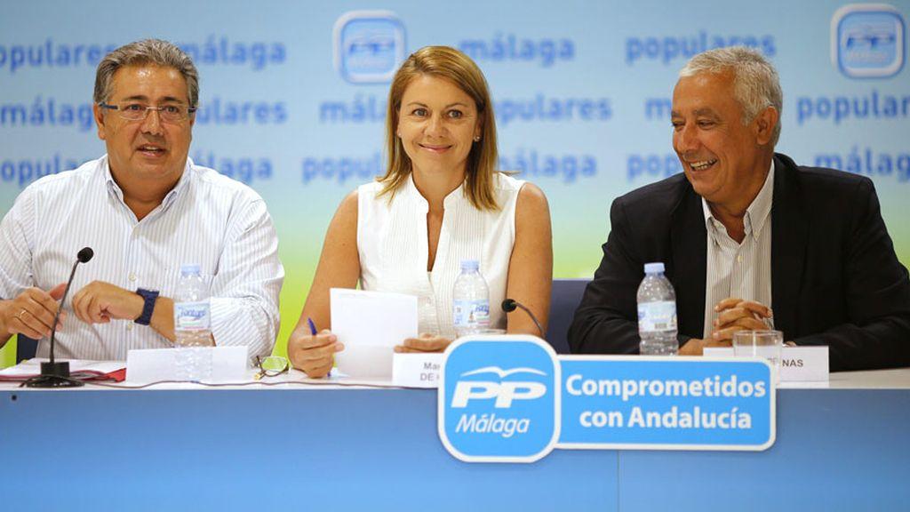 Imagen de archivo de la presidenta de Castilla La Mancha, María Dolores de Cospedal