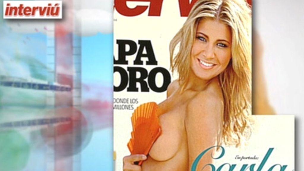 Carla Pereira posa en 'Interviú'