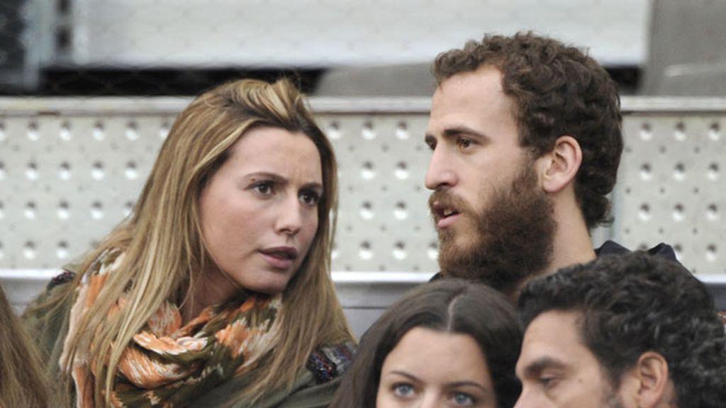 Sergio Rodríguez acudió con su novia