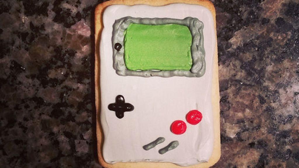 Galletas... para un desayuno 'Game Boy'