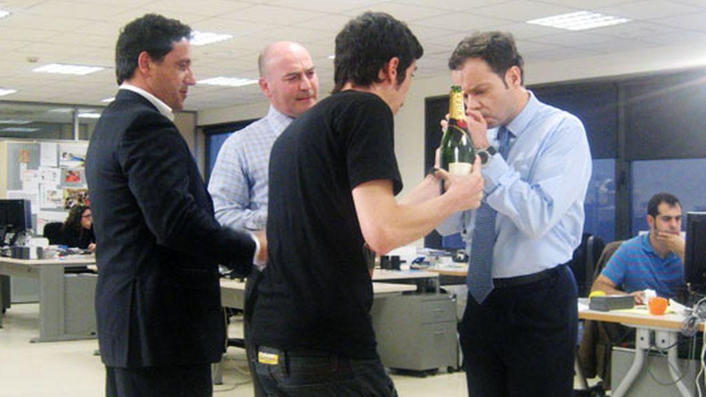 Making of de 'The Blackberry boys'