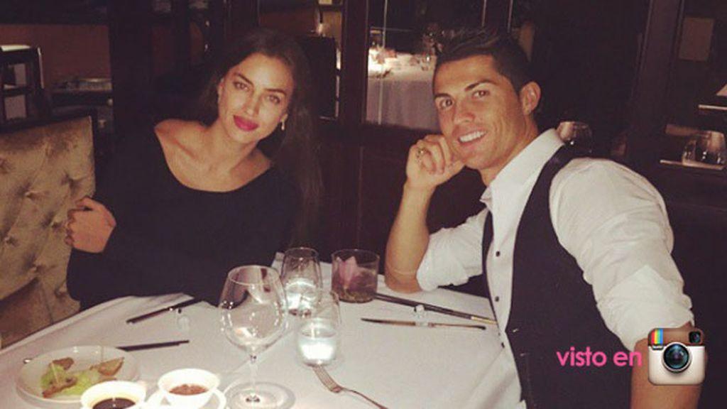 Tras esta cena romántica nos enteramos de que Cristiano llama a Irina 'tigriski'