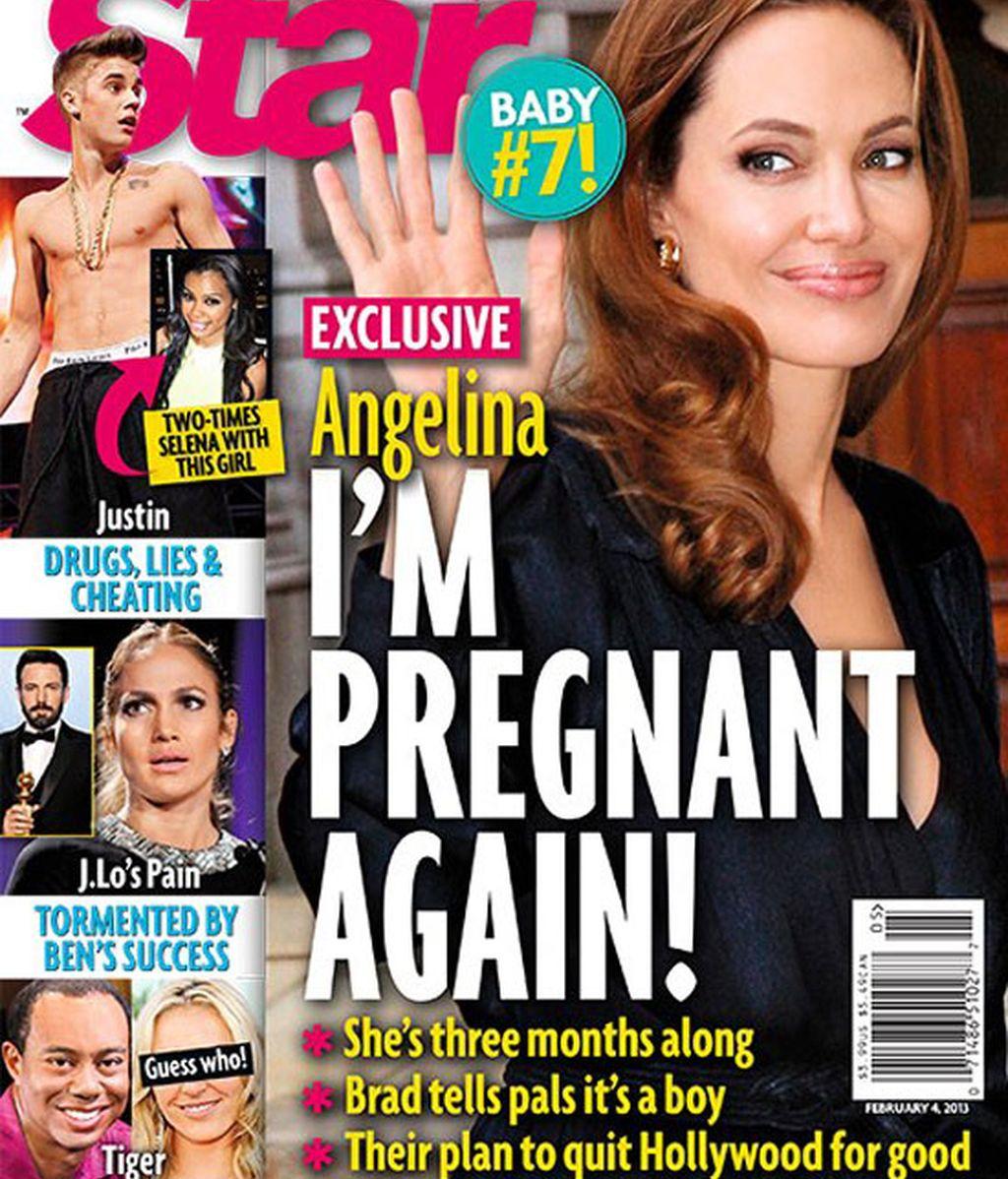 Angelia Jolie, ¿embarazada?